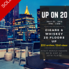 Thumbnail image for Event Invite: Up On 20 Rooftop Cigar & Whiskey Pairing