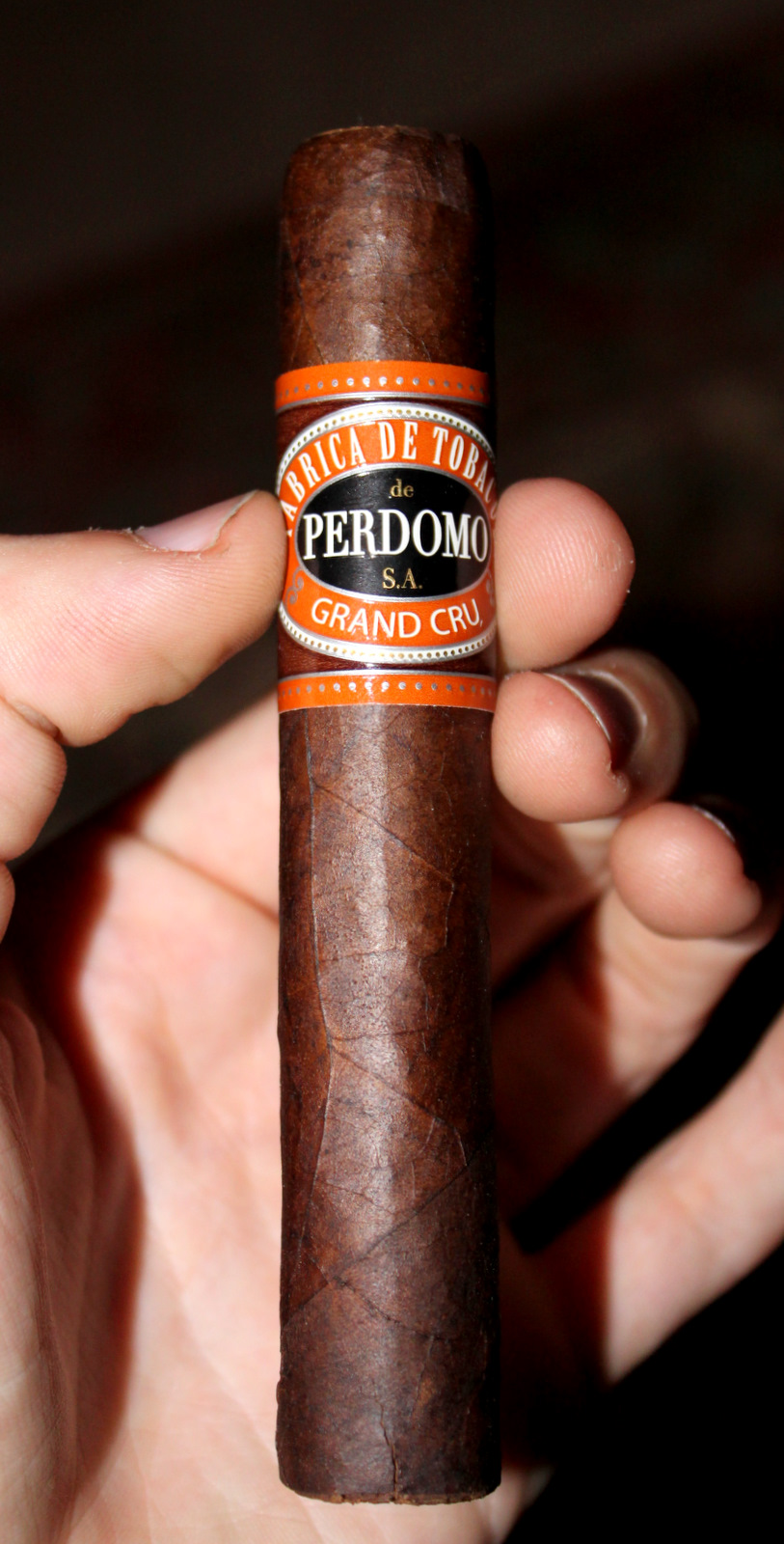 Cigar Review: Perdomo Grand CRU Maduro Robusto