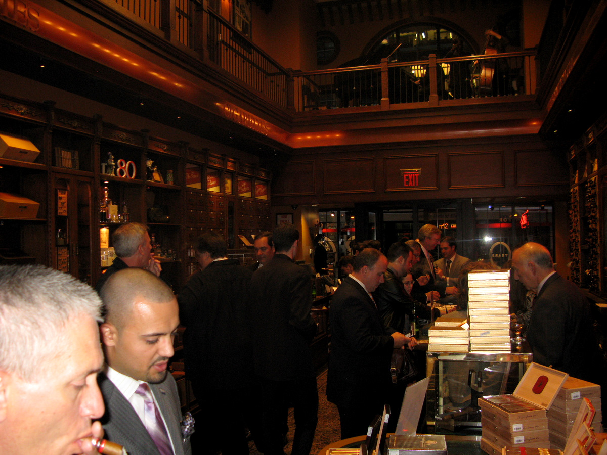 Event Recap: La Aurora Guillermo Leon Release Event at Nat Sherman