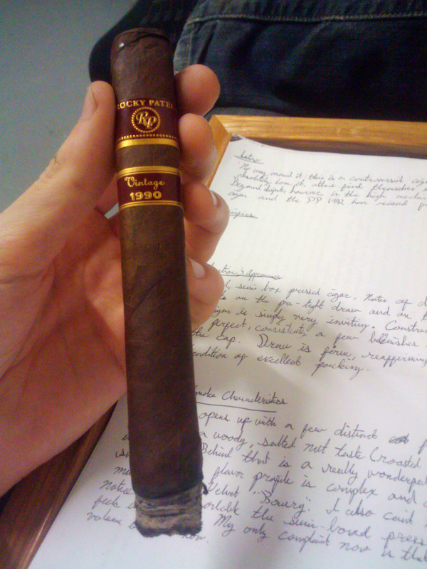 Cigar Review: Rocky Patel Vintage 1990 Churchill