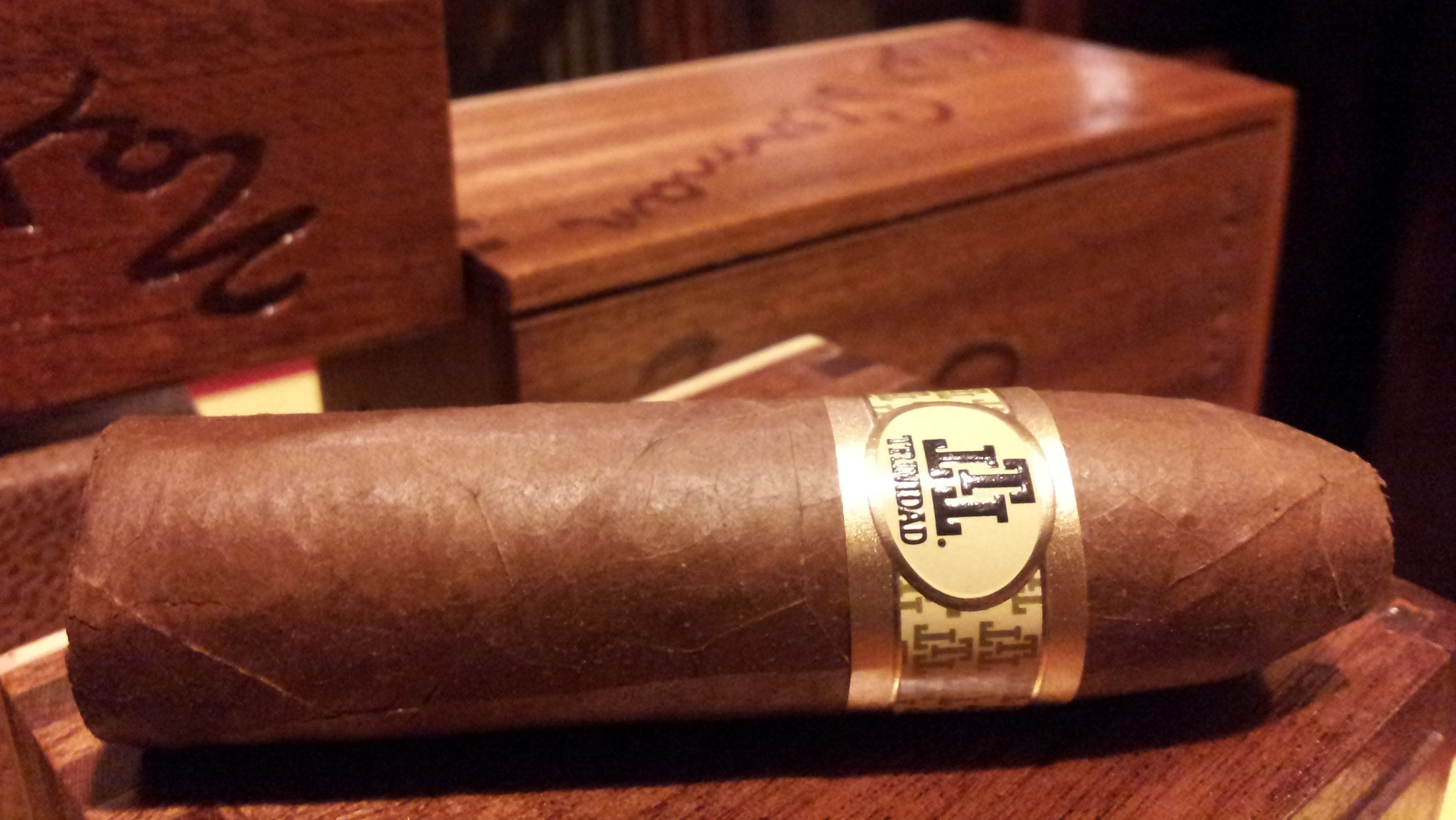 Cigar Review: Trinidad Habana Reserve Short Belicoso