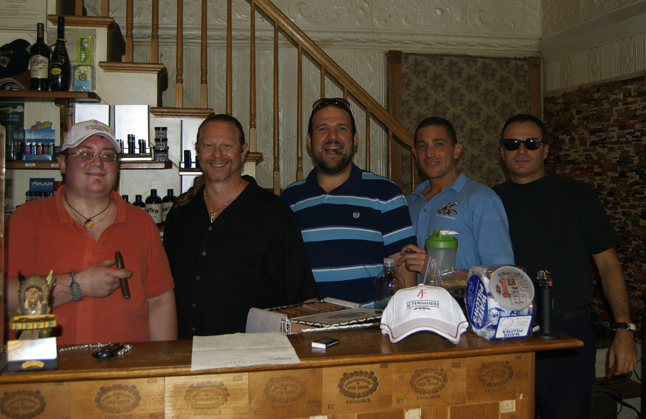 Huntington Humidor - Group