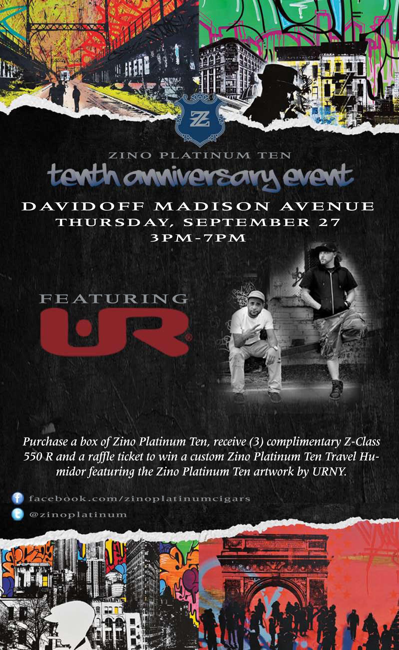 Zino Platinum Event @ Davidoff Madison