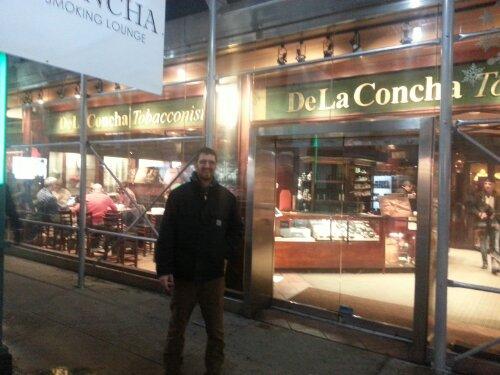 Paul outside DeLaConcha