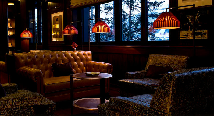 The Cigar Lounge At The Alpina Gstaad Switzerland Fine