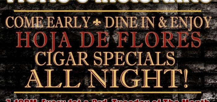 La Hoja Announces Cigar Events at Florio's Ristorante (New York)
