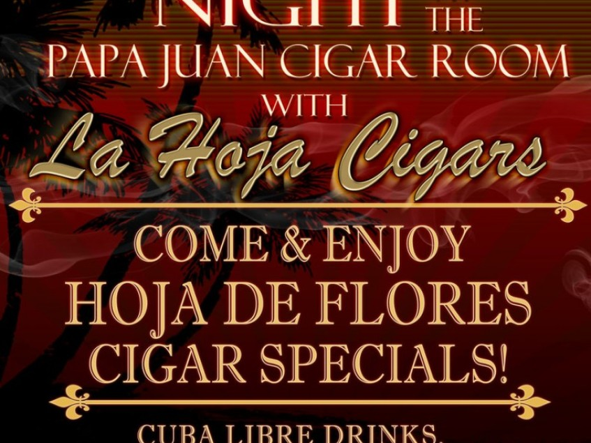 La Hoja Announces Havana Night at Papa Juan Cigar Co.