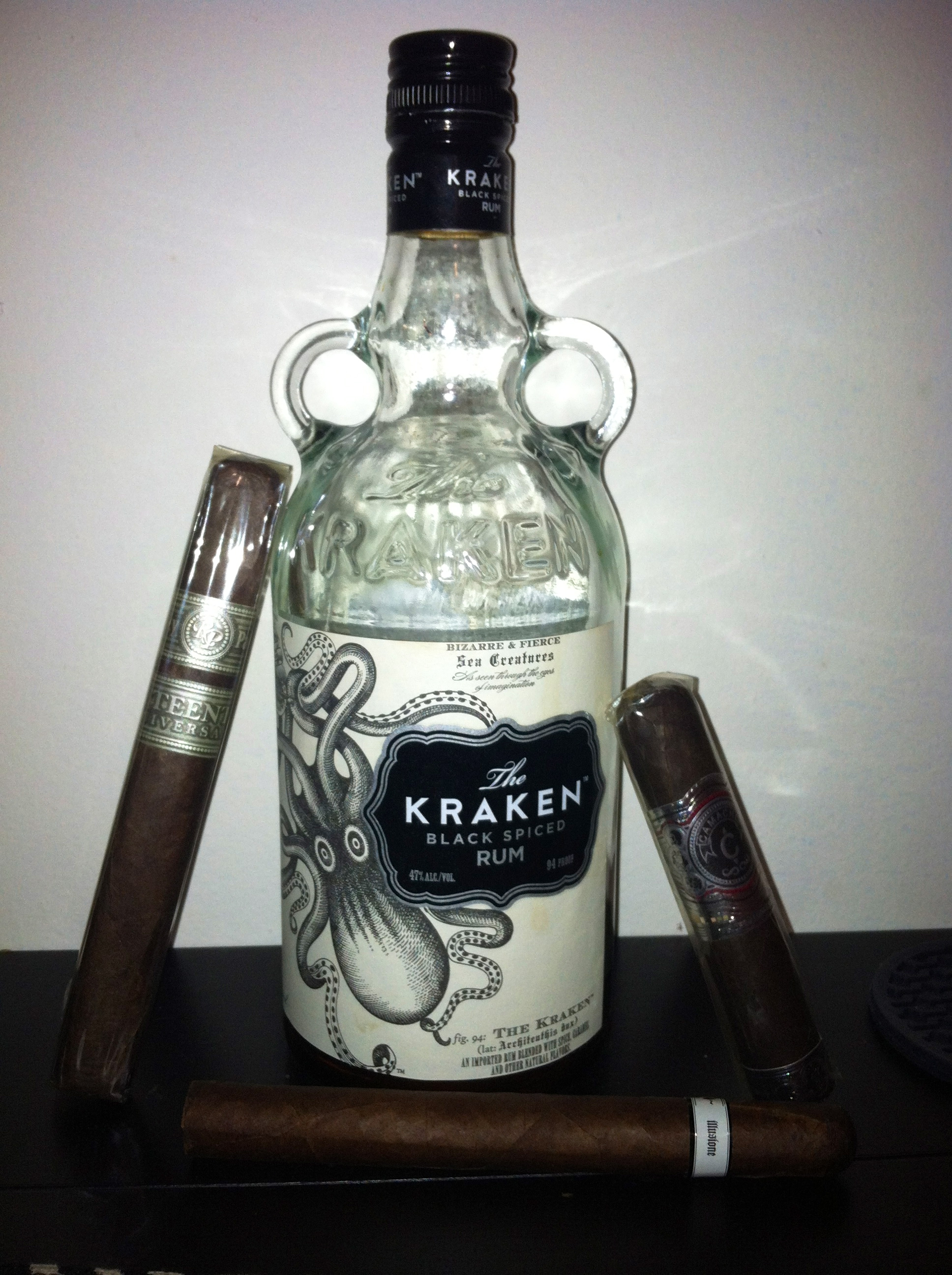 Rum review the kraken black spiced rum fine tobacco nyc - Kraken rum pictures ...