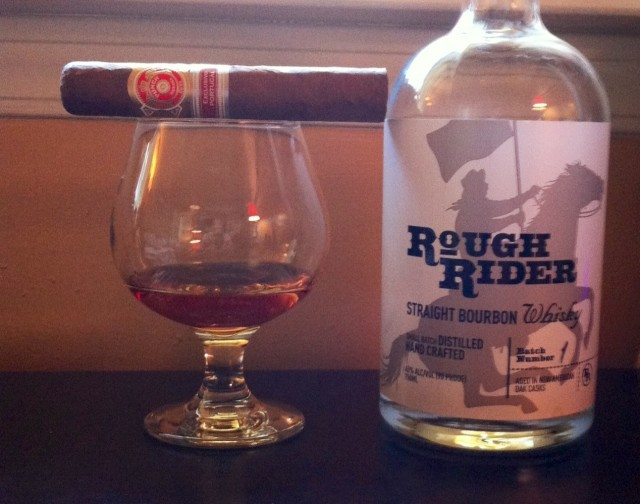 Post image for Cigar and Spirits Pairing: Rough Rider Bourbon and Punch Descobridores