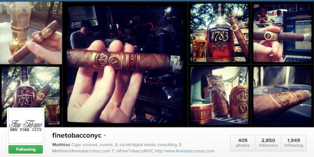 "Post image for ""Social Media for Cigar Companies"" Part IV: How To Make Sales on Instagram"