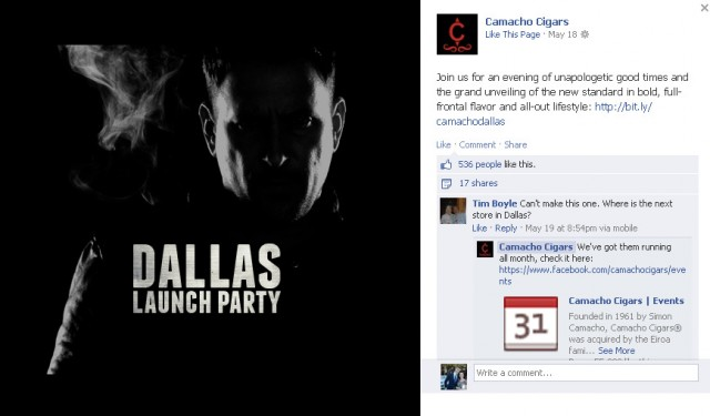 "Post image for ""Social Media for Cigar Companies"" Part III – How to Launch a Killer Facebook Page"