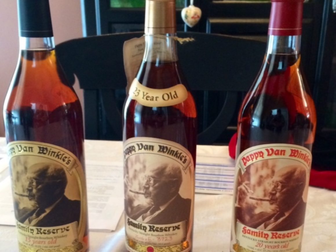 EXCLUSIVE: Rating Pappy Van Winkle's: A vertical tasting. Which made #1?