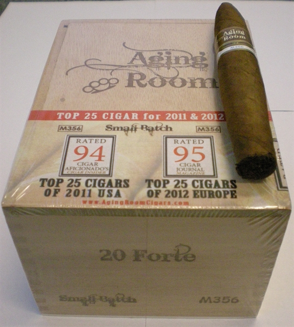 Aging Room Small Batch M356 Forte_Kasse_Føniks Cigar Import-p
