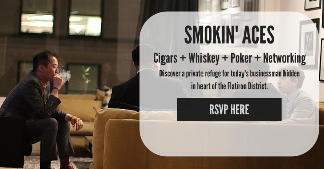 Post image for Cigar Event: Smokin' Aces Cigar Night at Lucky Guy NYC