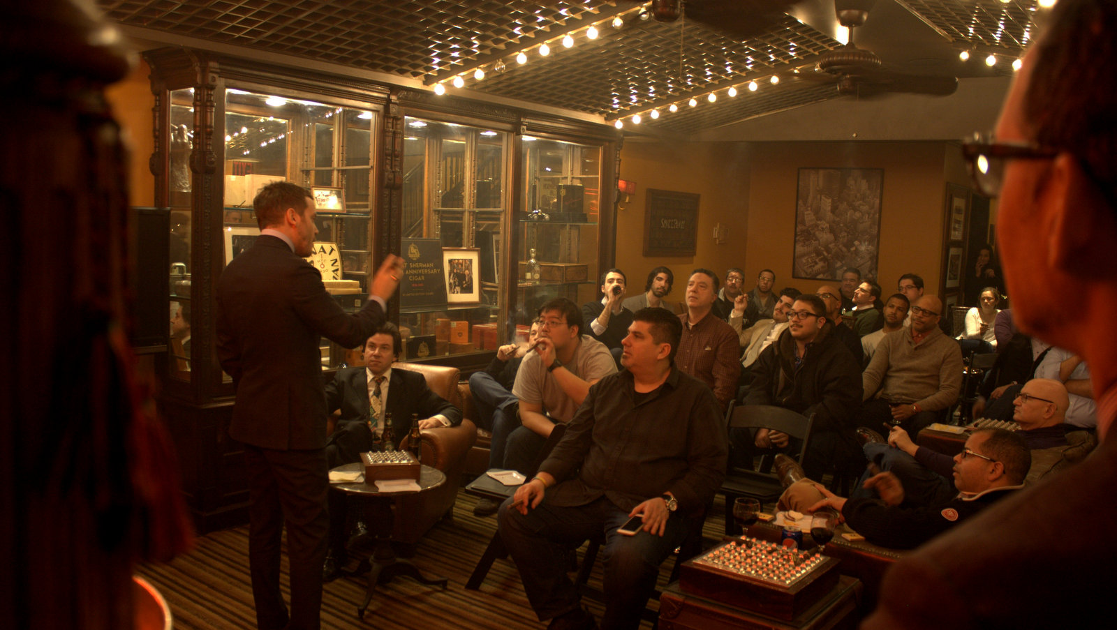 Epoca Component Tasting With Michael Herklots and Nat Sherman Cigars