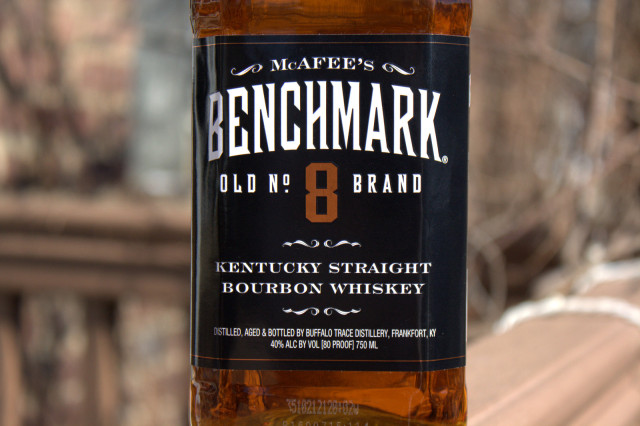 McAfee's Benchmark No. 8 Straight Bourbon
