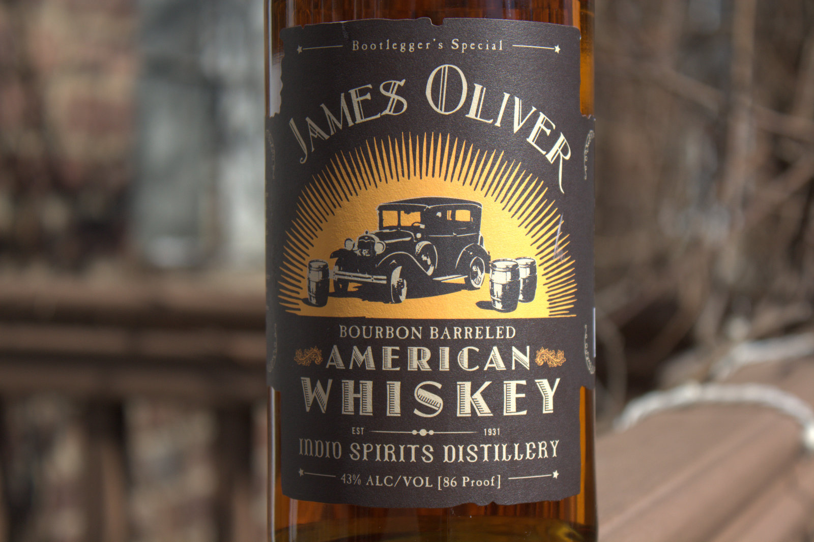 James Oliver American Whiskey Review - Fine Tobacco NYC