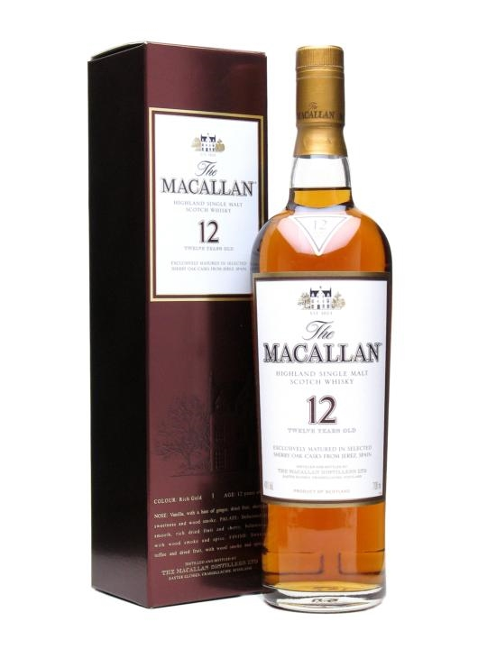 the macallan 12 year