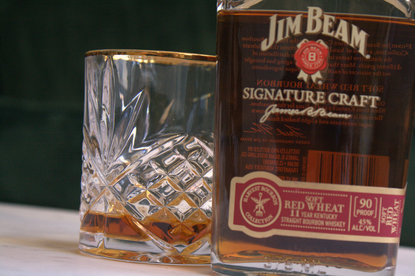 Jim Beam Signature Craft Red Wheat Review Fine Tobacco Nyc
