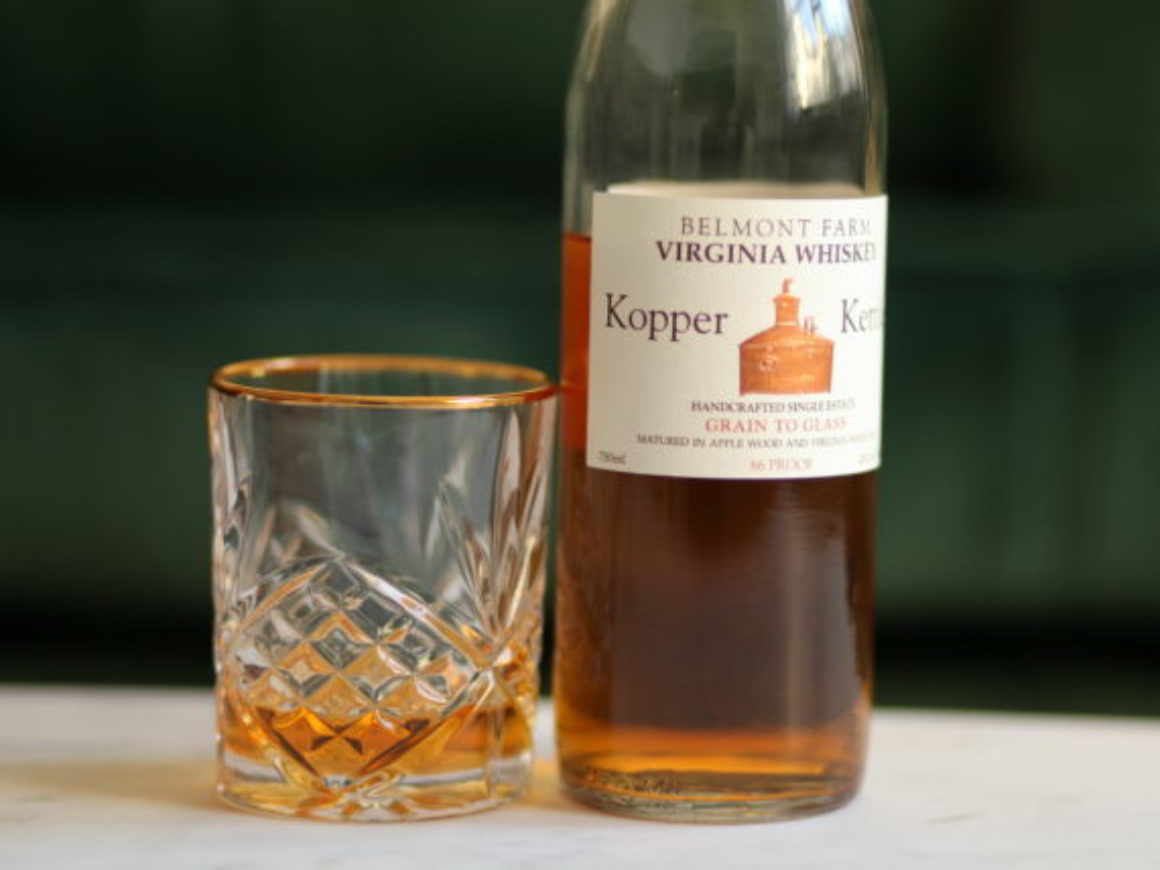 Belmont Farms Kopper Kettle Whiskey Review