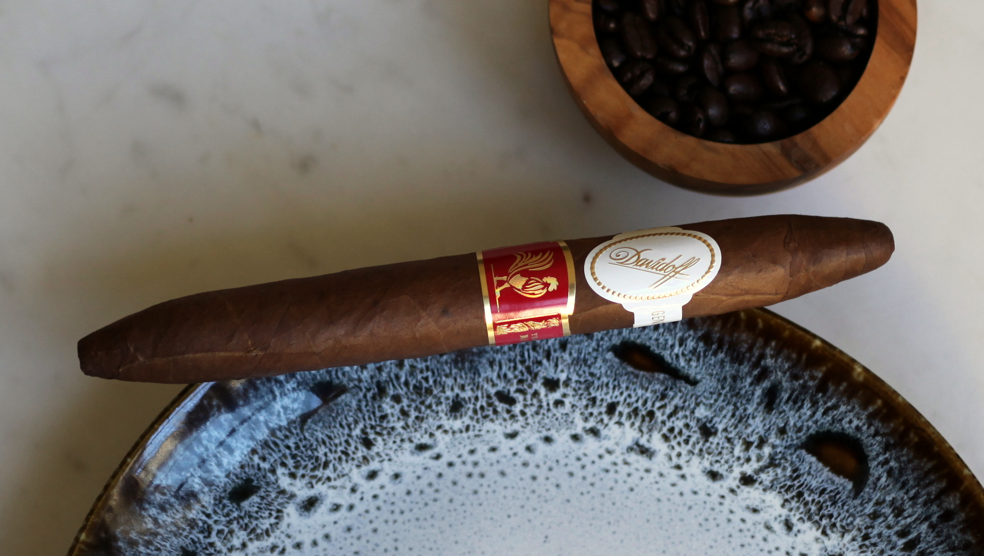 Davidoff Year of the Rooster Review Closeup