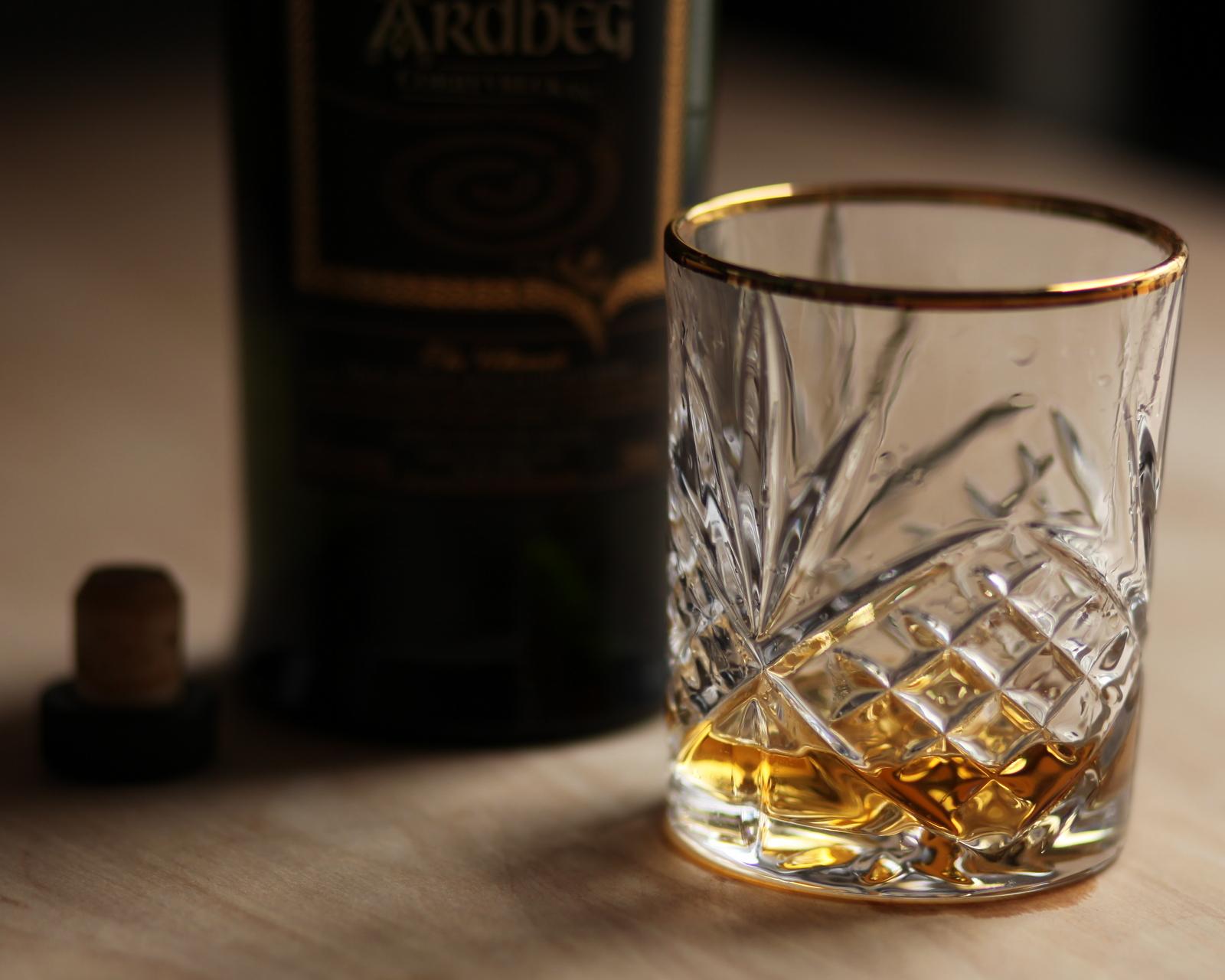 Ardbeg Corryvreckan glass