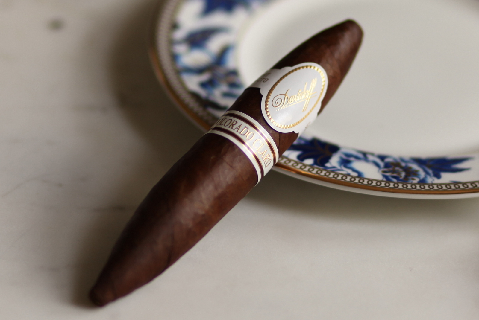 Davidoff Colorado Claro Short Perfecto Review Closeup
