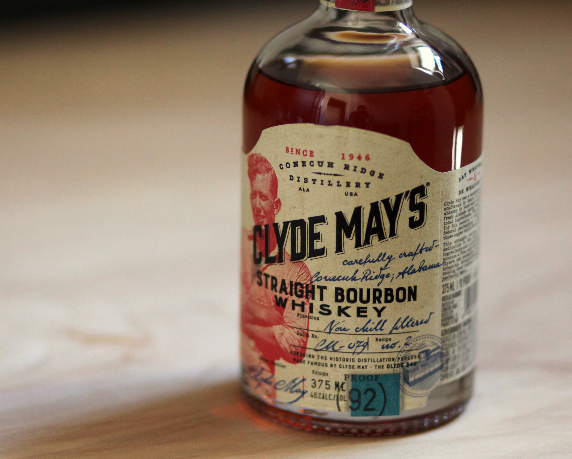 Clyde Mays Straight Bourbon Review