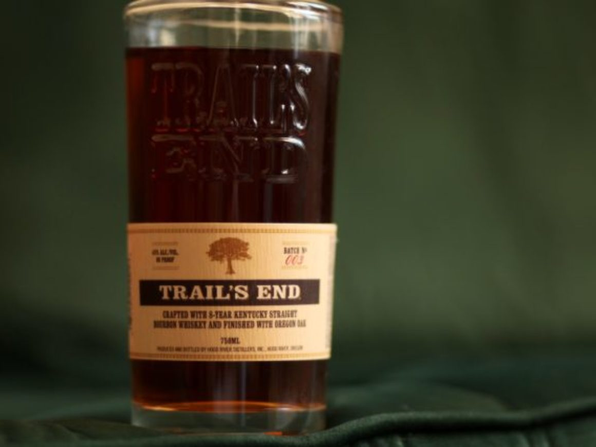 Trail's End Bourbon Review Bottle