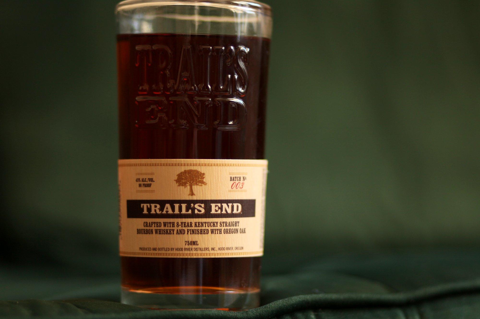 Trail's End Bourbon Review Bottle