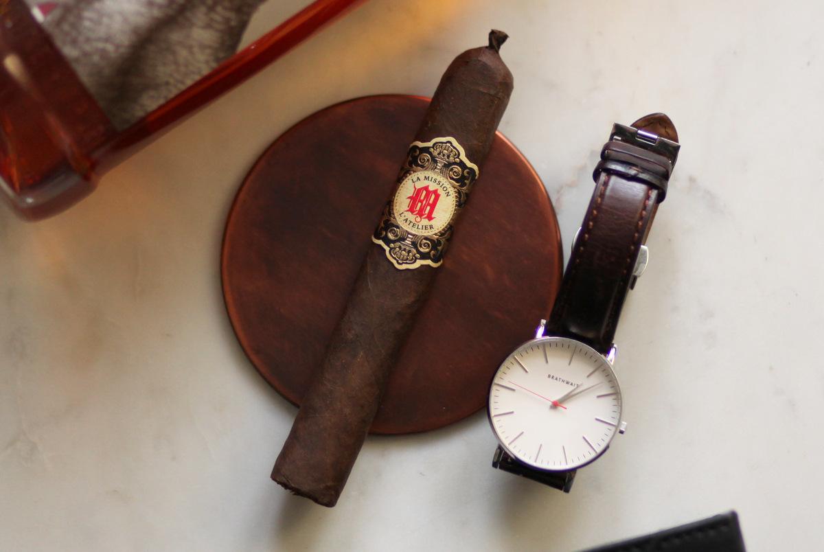 la mission cigar review closeup