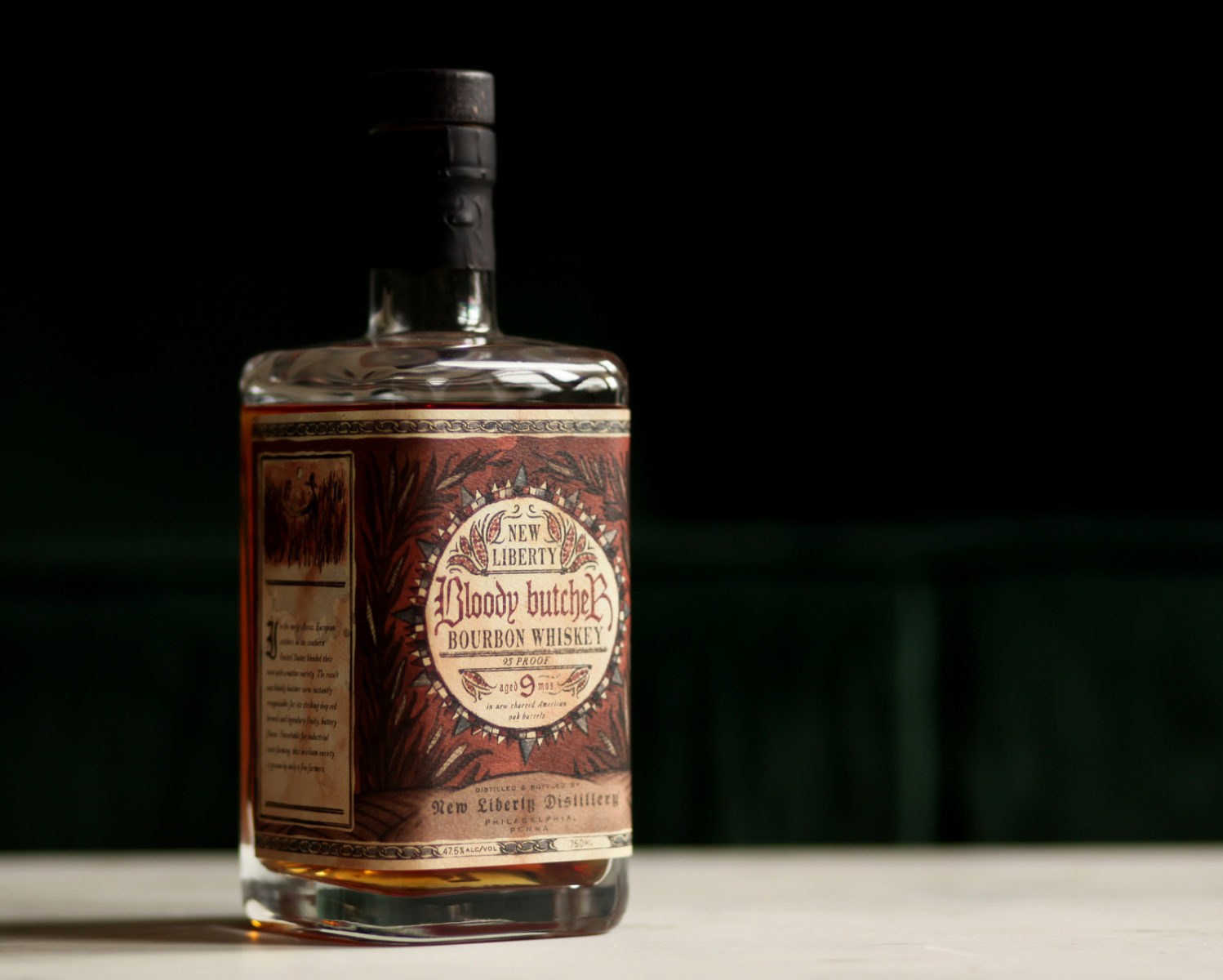 Bloody Butcher Bourbon Whiskey