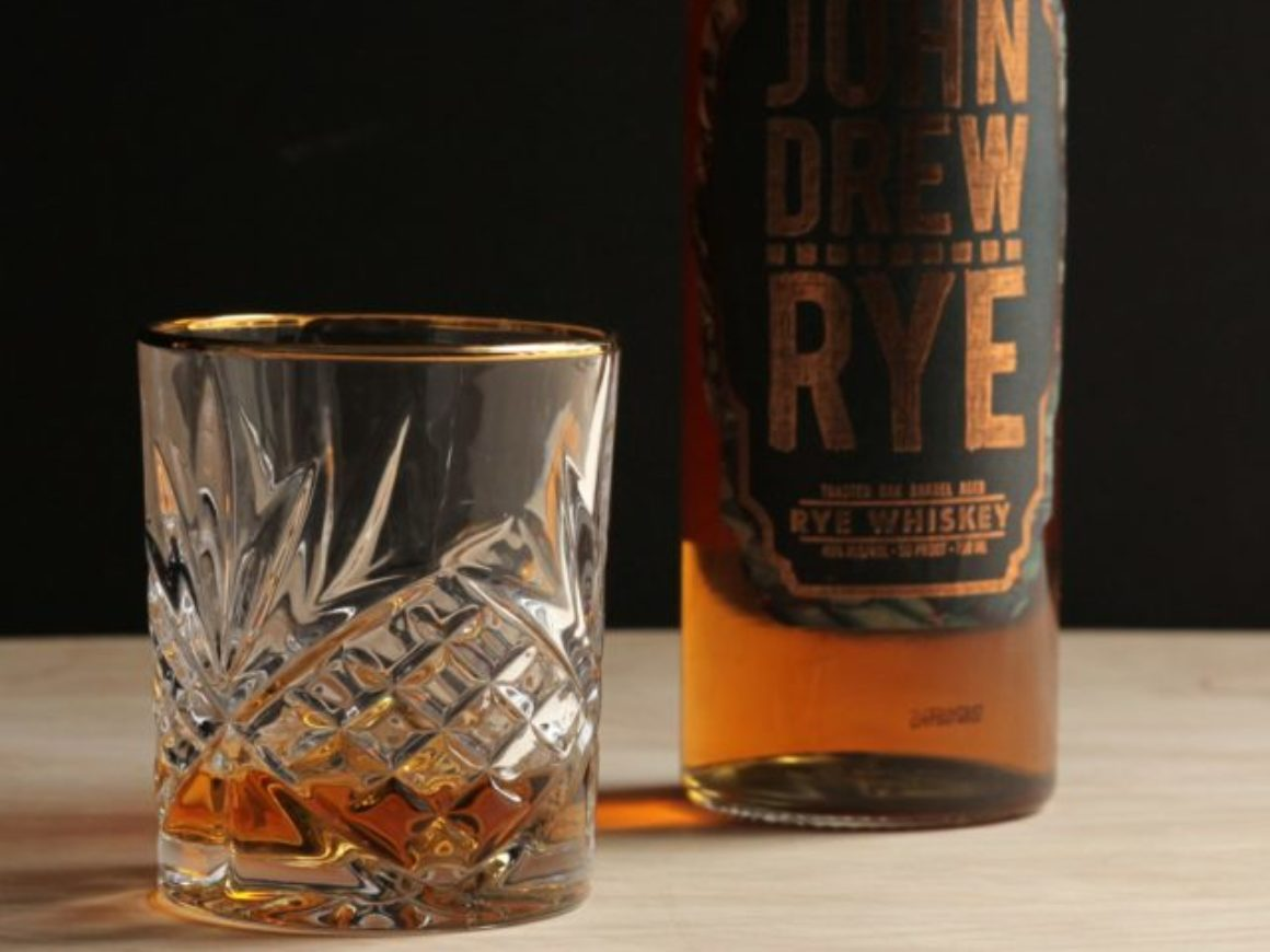 John Drew Rye Review Glass