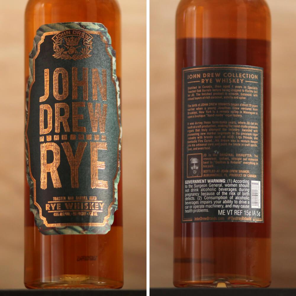 John Drew Rye Review