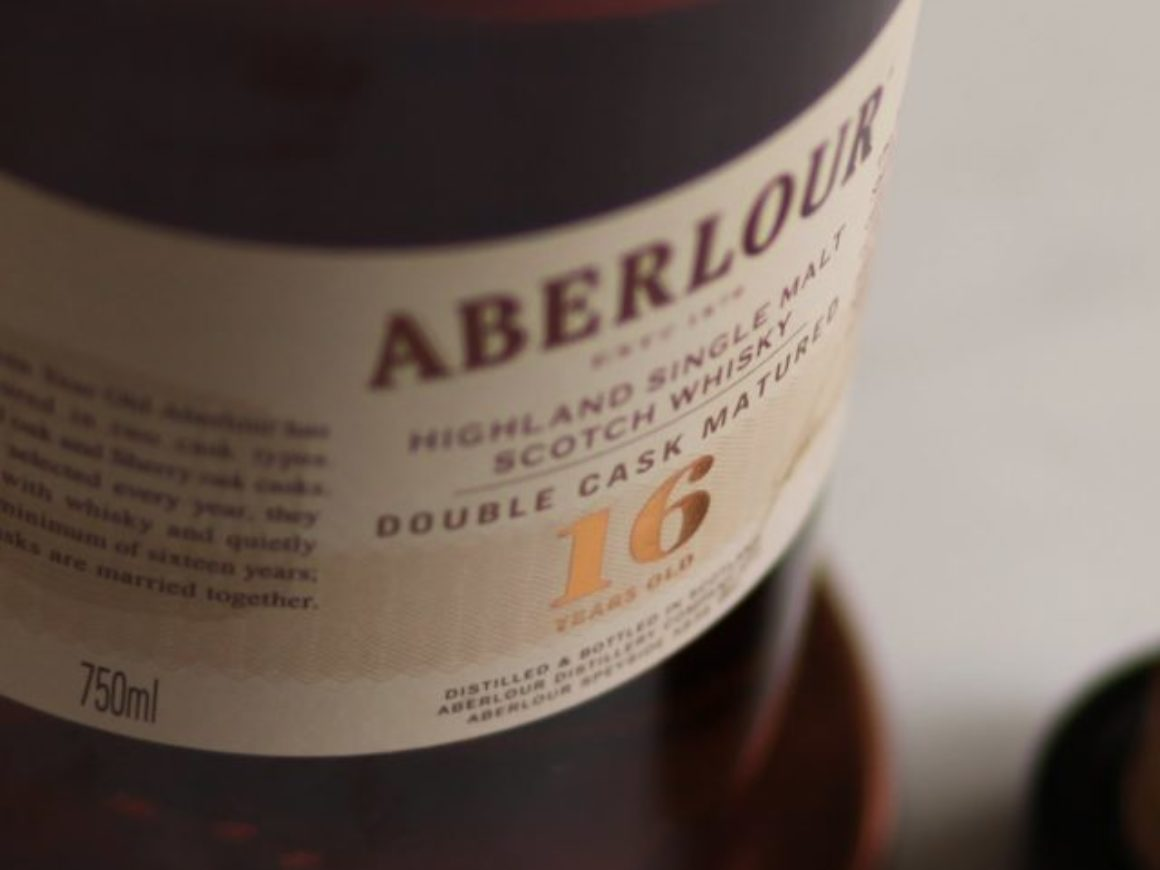 Aberlour 16 Year Label