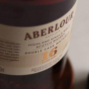 Aberlour 16 Year Label