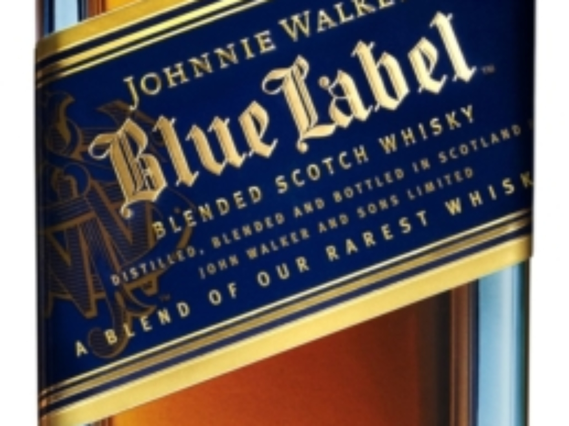 Johnnie Walker Blue Label Bottle Cropped